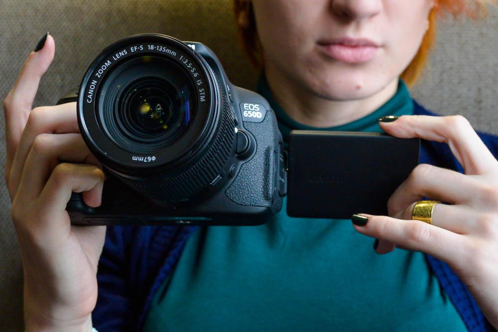 Цифровая фотокамера Canon EOS-650D ТехноСити Новосибирск