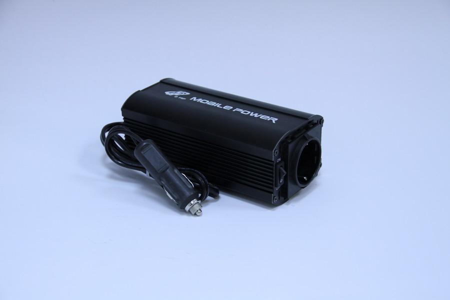 Инвертор автомобильный FSP Car MobilePower DC to AC,150W/20A,прикуриватель/евророзетка.