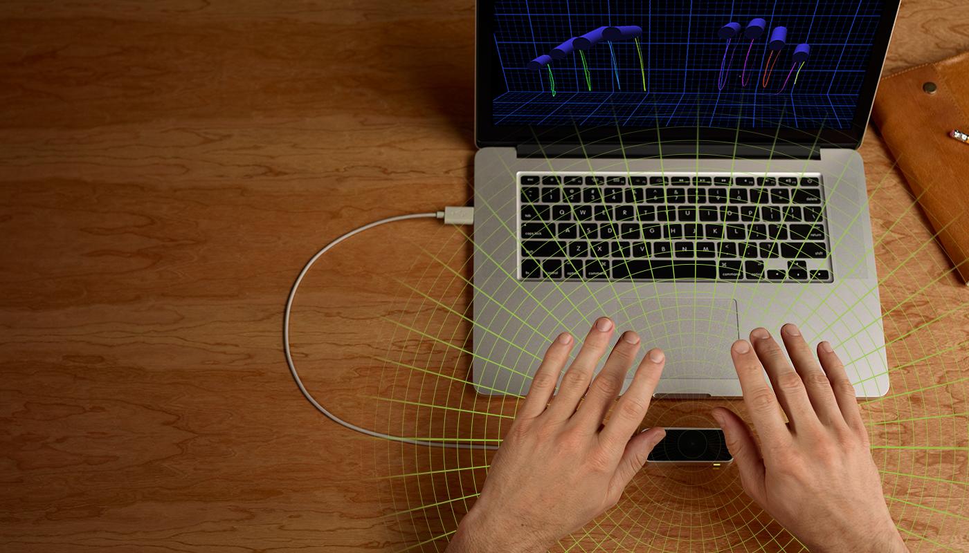 Беспроводной интерфейс Leap motion для Mac/Win купить устройство бесконтактного управления Leap Motion Leap Motion в интернет-ма