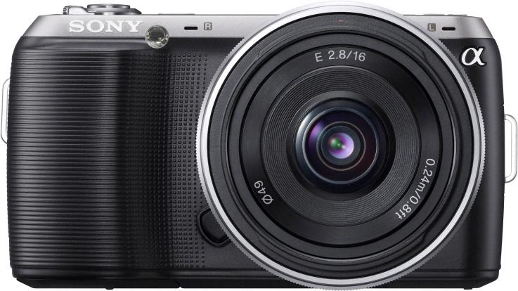 Цифровая фотокамера sony nex c3a black kit e16 мм