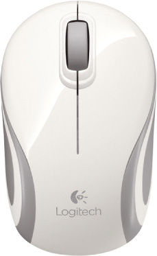 Мышь беспроводная Logitech Wireless Mouse M187 White USB (910-002735)