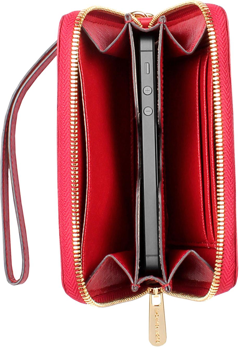 michael kors essential zip wallet