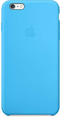 Силиконовый чехол для iPhone 6 Plus/6S Plus Apple Silicone Case, Blue [MGRH2ZM/A]