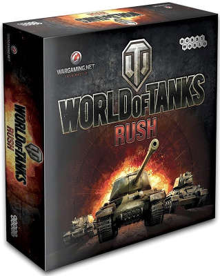 Настольная игра World of Tanks: Rush (от 10 лет)