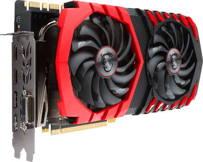 Видеокарта PCI-E NVIDIA GeForce GTX 1080Ti 11264MB GDDR5X MSI [GTX 1080 TI GAMING 11G]