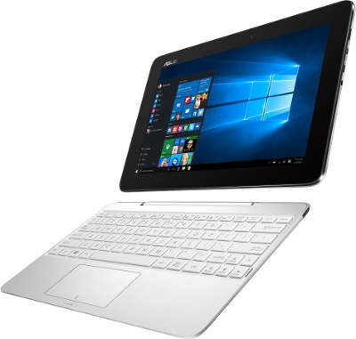 "Ноутбук Asus T100HA White 10.1"" IPS Touch X5-Z8500/2/32SSD/WiFi/BT/Cam/W10"