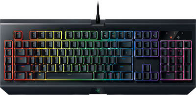 Клавиатура USB Razer BlackWidow Chroma V2 (Orange Switch)