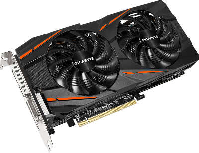 Видеокарта GIGABYTE AMD Radeon RX 590 Gaming 8G 8Gb DDR5 PCI-E DVI, HDMI, 3DP