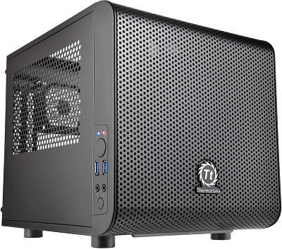 Корпус Thermaltake Core V1 Black w/o PSU,CA-1B8-00S1WN-00