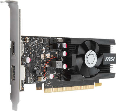 Видеокарта PCI-E NVIDIA GeForce GT1030 2048MB DDR5 MSI [GT 1030 2G LP OC]