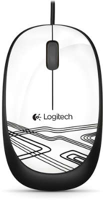 Мышь Logitech Mouse M105 White USB (910-003117)