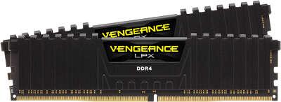 Набор памяти DDR4 DIMM 2x4Gb DDR2400 Corsair Vengeance (CMK8GX4M2A2400C16)