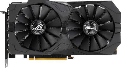 Видеокарта ASUS nVidia GeForce GTX1650 ROG STRIX 4Gb DDR5 PCI-E 2HDMI, 2DP
