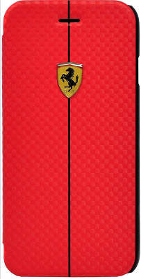 Чехол для iPhone 6/6S Ferrari Formula One Booktype, красный [FEFOCFLBKP6RE]