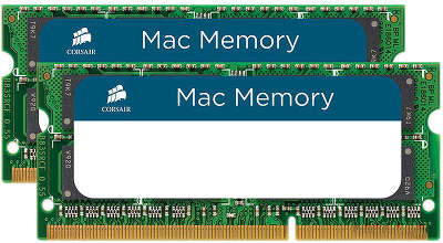 Набор памяти SO-DIMM DDR-III 2*4096 Mb DDR1333 Corsair Apple Qualified [CMSA8GX3M2A1333C9]