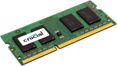 Модуль памяти SO-DIMM DDR-III 8192 Mb DDR1600 Crucial 1.35V