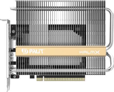 Видеокарта Palit nVidia GeForce GTX1650 KalmX 4Gb DDR5 PCI-E HDMI, 2DP