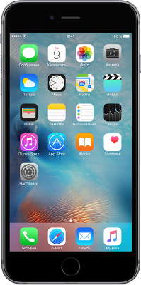 Смартфон Apple iPhone 6S Plus [MKUD2RU/A] 128 GB space gray