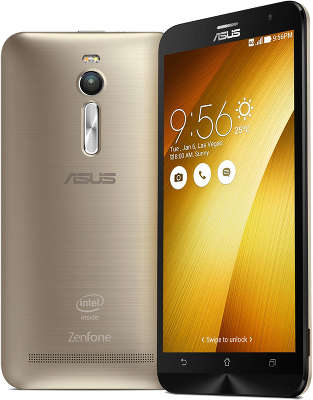Смартфон ASUS Zenfone 2 ZE551Ml 16Gb ОЗУ 2Gb,Gold  (ZE551ML-6G179RU)