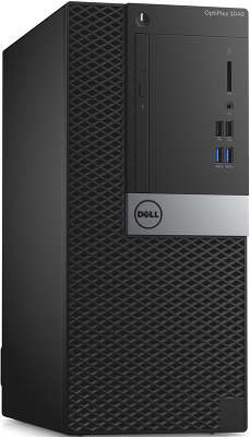 Компьютер Dell Optiplex 3040 MT i3 6100 (3.7)/4Gb/500Gb/HDG530/Ubuntu/Kb+Mouse