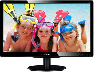 "Монитор 21.5"" Philips 223V5LHSB2/00(01) черный"