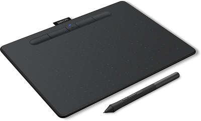 Графический планшет Wacom Intuos M Bluetooth Black [CTL-6100WLK-N] | купить графический планшет Wacom Intuos M Bluetooth CTL-6100WLK-N в интернет-магазине ТехноСити Новосибирск