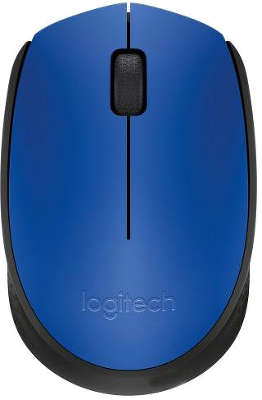Мышь беспроводная Logitech Wireless Mouse M171 Blue USB (910-004640)