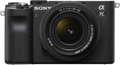 Цифровая фотокамера Sony Alpha 7C Black Kit (28-60 мм)