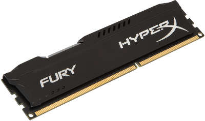 Модуль памяти DDR-III DIMM 4096Mb DDR1600 Kingston HyperX Fury Black [HX316C10FB/4]