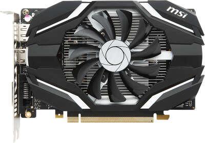 Видеокарта MSI nVidia GeForce GTX1050Ti 4G OCV1 4Gb DDR5 PCI-E DVI, HDMI, DP