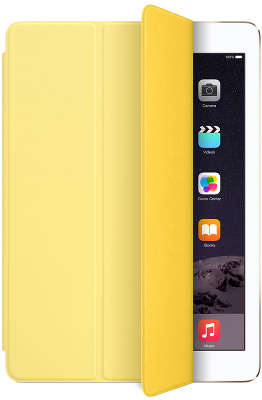 Чехол-обложка Apple Smart Cover для iPad 2017/<wbr> Air/<wbr>Air 2, Yellow [MGXN2ZM/<wbr>A]