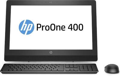 Моноблок HP ProOne 400 G3 20&quot; i3-7100T/<wbr>4/<wbr>1000/<wbr>HDG630/<wbr>DVDRW/<wbr>WiFi/<wbr>BT/<wbr>W10H/<wbr>Kb+Mouse, черный