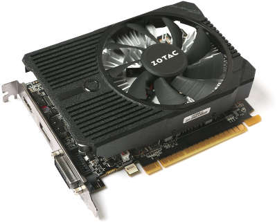 Видеокарта PCI-E NVIDIA GeForce GTX1050 Ti Mini 4096MB DDR5 Zotac [ZT-P10510A-10L]