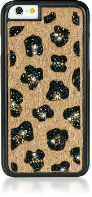 Чехол для iPhone 6/6S Bling My Thing Swarovski Glam!, Leopard Beige [ip6-gm-bw-leo]