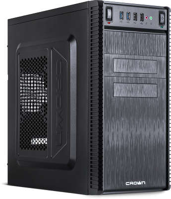 Корпус MiditowerATX Crown CMC-403 Black, 650W