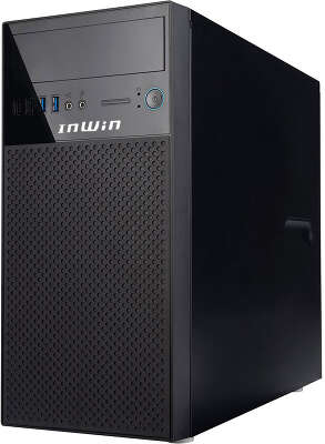 Корпус In-Win ENR708U3, черный, mATX, 400W (6135270)