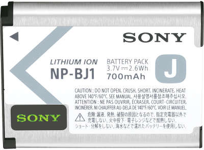 Аккумулятор Sony NP-BJ1