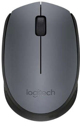 Мышь беспроводная Logitech Wireless Mouse M170 Black USB (910-004642)<wbr>