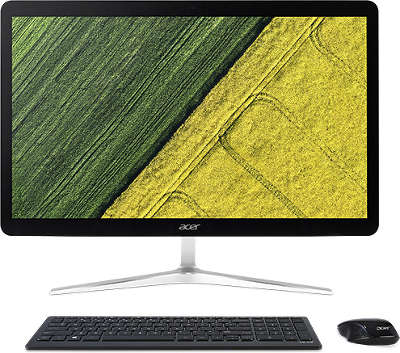 "Моноблок Acer Aspire U27-880 27"" Full HD Touch i5-7200U/8/1000/16SSD/HDG620/CR/WF/BT/CAM/W10/Kb+Mouse, серебри"