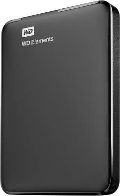 Внешний диск 500 ГБ WD Elements SE Portable USB 3.0, Black [WDBUZG5000ABK]