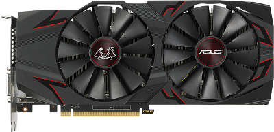 Видеокарта ASUS nVidia GeForce GTX1070Ti CERBERUS 8Gb DDR5 PCI-E DVI, 2HDMI, 2DP