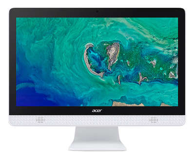 "Моноблок Acer Aspire C20-820 19.5"" HD+ J3060/4/500/WF/BT/Cam/Kb+Mouse/Linux,белый"