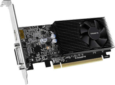 Видеокарта GIGABYTE nVidia GeForce GT1030 2Gb DDR4 PCI-E DVI, HDMI