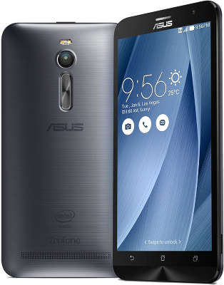 Смартфон ASUS Zenfone 2 ZE551Ml 16Gb ОЗУ 2Gb, Silver (ZE551ML-6J177RU)