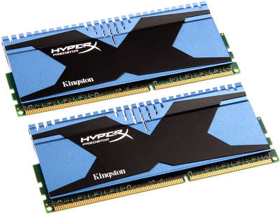 Набор памяти DDR-III DIMM 2*4096Mb DDR1866 Kingston HyperX Predator Series CL10  [KHX18C10T2K2/8]