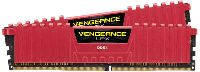 Набор памяти DDR4 2x8192Mb DDR2400 Corsair CMK16GX4M2A2400C14R RTL PC4-19200 CL14 DIMM 288-pin 1.2В
