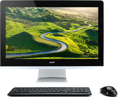 "Моноблок Acer Aspire Z22-780 21.5"" i3-7100T/4/1000/HDG630/DVDRW/CR/WiFi/BT/CAM/W10/Kb+Mouse, черный"