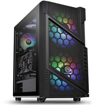 Корпус Thermaltake Commander C31 TG ARGB, черный, ATX, Без БП (CA-1N2-00M1WN-00)