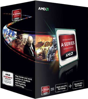 Процессор AMD A4 5300 BOX <SocketFM2> (AD5300OKHJBOX)