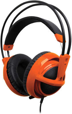 Гарнитура Steelseries Siberia v2 full-size, красная